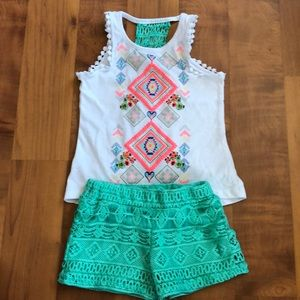 Toddler girl two piece outfit